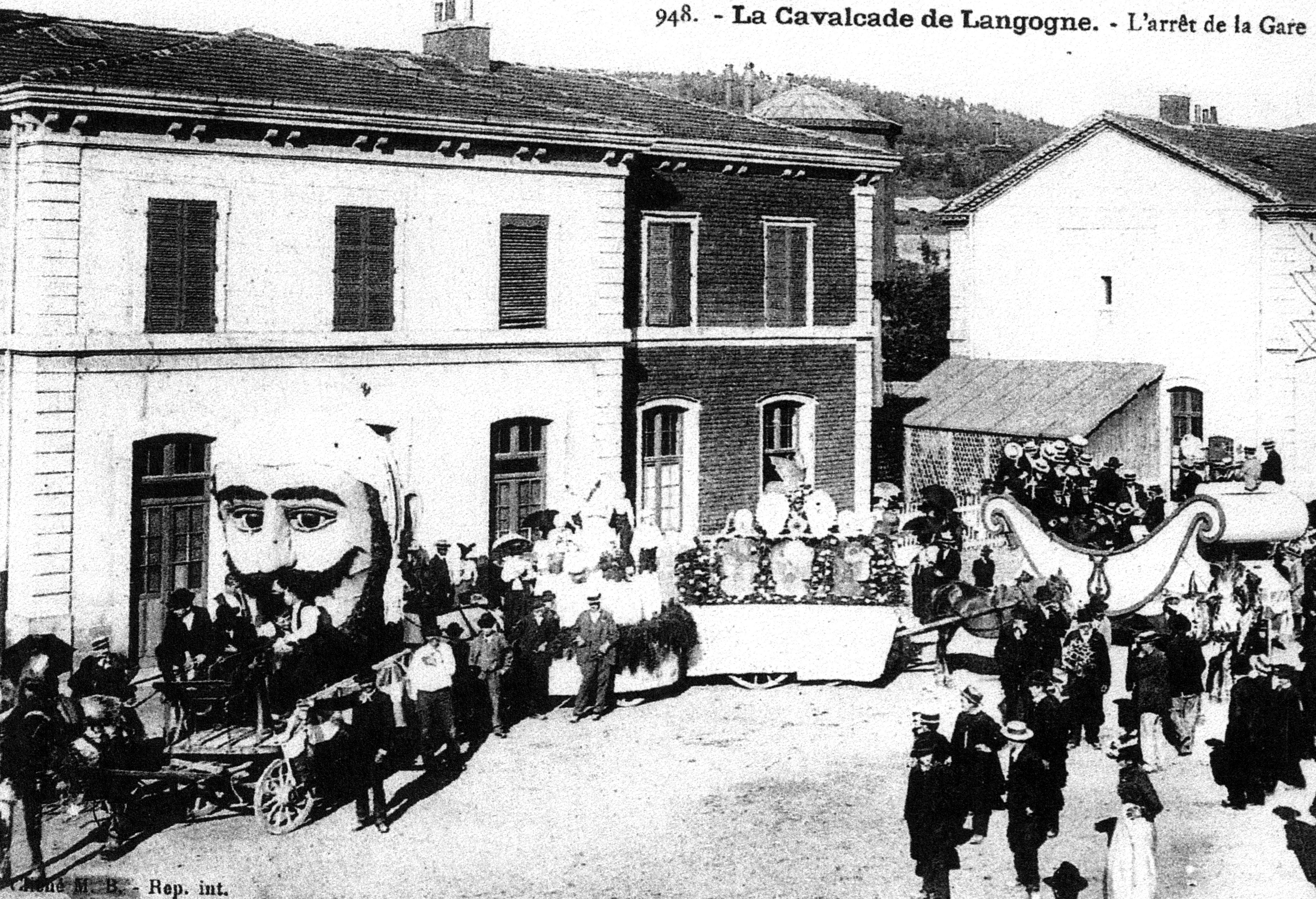 Tourisme autour de Langogne en Loz¨re  l époque